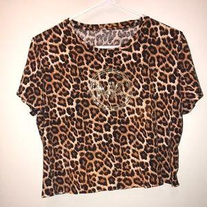 Michael Kors Leopard Top